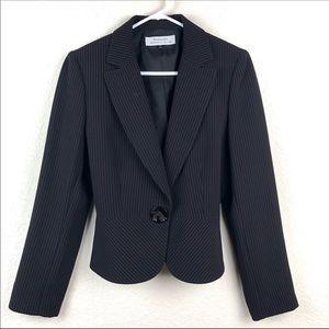 Tahari by Arthur S. Levine pinstriped jacket